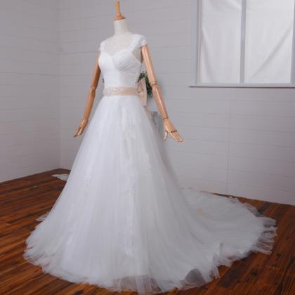 Elegant Sweetheart Wedding Dress Sw..