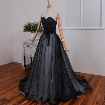 Long Bridesmaid Dress, Ball Gown We..