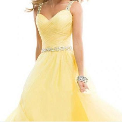 Long Elegant Prom Dresses 2016 Yell..