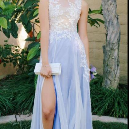 DoDodress-Sexy Prom Dress With Slit..