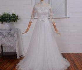 Ivory Wedding Dress ..