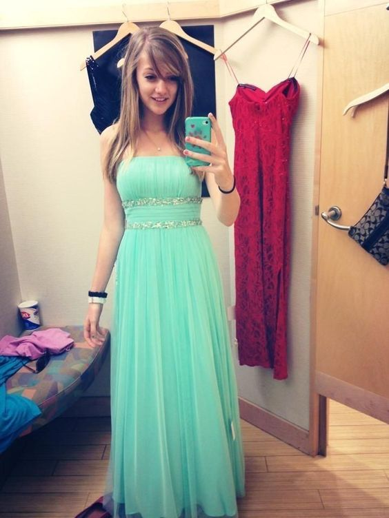 2016 Chiffon Prom Dress Dresses Evening Gown