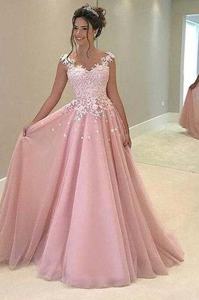 New Arrival Prom Dress,Appliques Prom Dresses,2017 Sexy Prom Dress,Long Evening Dress,Formal Dress